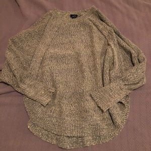 Oversize slouchy tan/cream sweater Sz XL